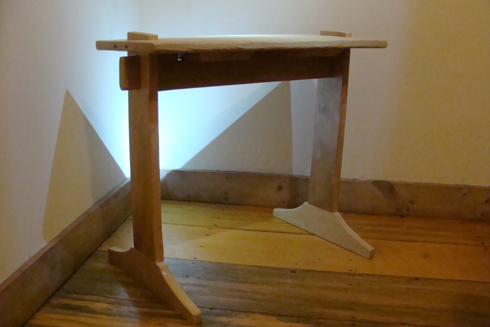 """Weaving Bench #1"", Nick Milburn, 2012, Birch and Hemlock"