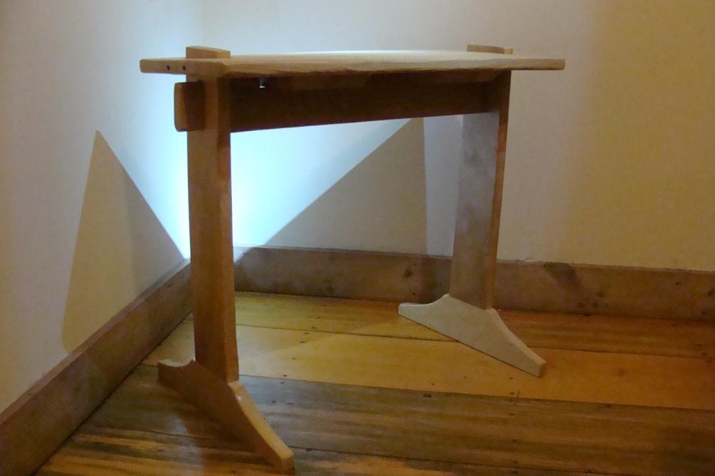 """Weaving Bench #1"", Nick Milburn, 2012, Birch and Hemlock"